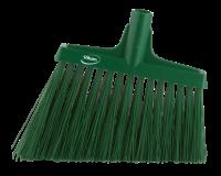 Besen, Winkelschnitt, 290 mm, Extrahart, Grün